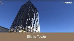 Elithis tower in Strasbourg | heroal references
