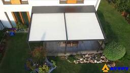 Jak funguje pergola Eva se stahovací střechou?