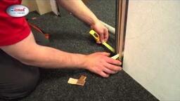 Interiérové dveře Zlomek - Posuvné dveře do pouzdra - montážní postup