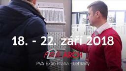 POZVÁNKA: Mezinárodní veletrh FOR ARCH 2018