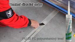 PU 50 FC polyuretanový tmel - tmelení spáry