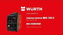 SVAŘOVACÍ INVERTOR MIG 180-5/REL/LIFT TIG