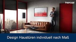 Design Haustüren individuell nach Maß | heroal Produkte
