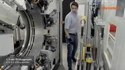 SBZ 628 - Stabbearbeitungszentrum Bearbeitungsstation/machining station (2015) - elumatec AG