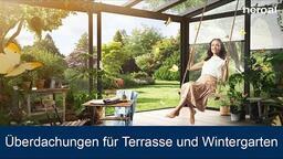 Überdachungen für Terrasse und Wintergarten | heroal Produkte