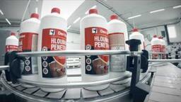 Den Braven Přerov - plně automatická plnicí linka tekutých produktů CZ