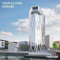 Tour Elithis Danube is the first plus energy tower that produces more energy than it consumes.💡 No wonder that the builder chose components that are highly energy efficient, like the window system heroal W 72. ⠀⠀⠀⠀⠀⠀⠀