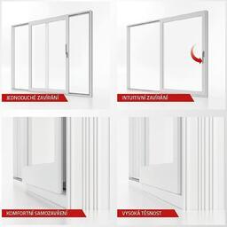 Posuvné dveře aluplast smart-slide