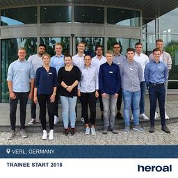 Becoming a heroal employee: ✅ That's what 14 young people can say who started their training at heroal Germany last week. Swipe left to find some impressions of their first days in our company!⬅️ ⠀⠀⠀⠀⠀⠀⠀
