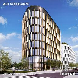 🏙The building complex AFI Vokovice in Prague stands out with modern architecture and a special sense for sustainability and is therefore equipped with energy-efficient heroal window, façade and sun protection systems.🌿✅ ⠀⠀⠀⠀⠀⠀⠀