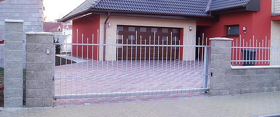 Posuvné brány od firmy G-MONT