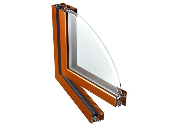 Tříkomorové hliníkové okno PONZIO PE 78 N