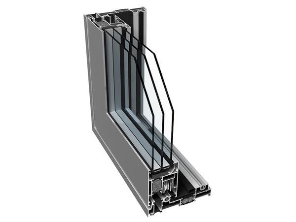 Posuvné hliníkové dveře - sliding portály
