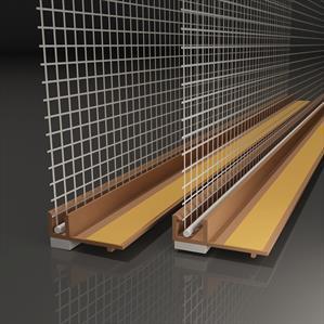 Okenní fasádní začistovací profily systému ETICS firmy LIKOV