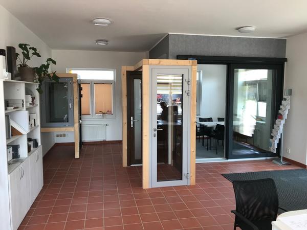 Nový showroom oken a dveří firmy TANOR