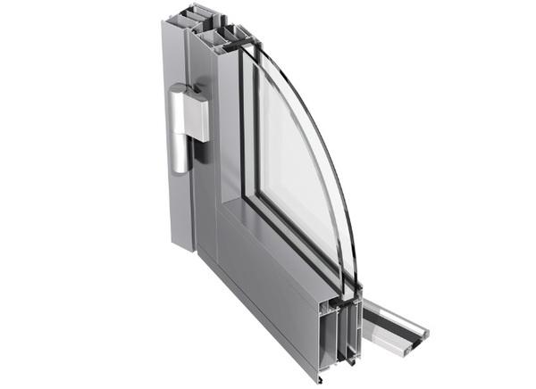 Izolační hliníkové dveře PONZIO PE 78 N