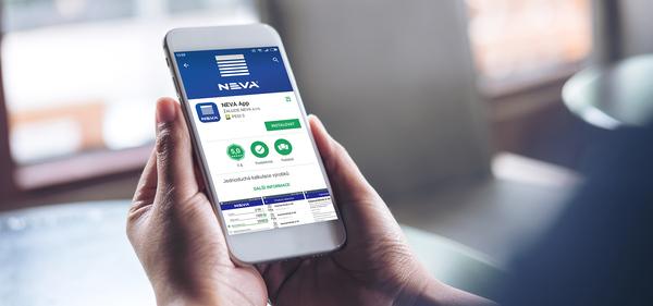 NEVA App - moderní aplikace pro jednoduché objednávání
