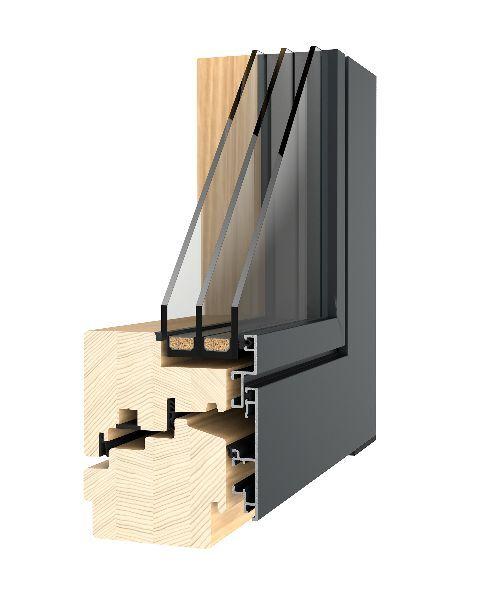 Dřevěná okna s hliníkovým opláštěním WindowStar – kouzlo dřeva a extrémní životnost