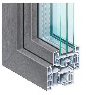 Nová výrazně úsporná okna a dveře řady Profitline