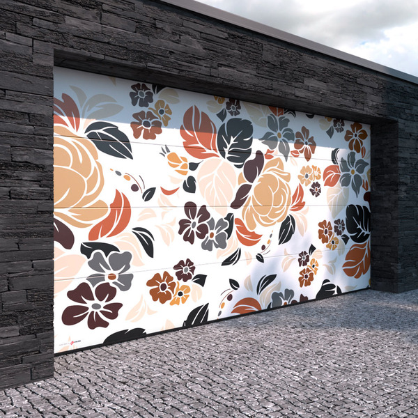 Designová garážová vrata od firmy Kružík