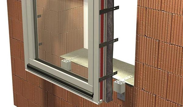 Systém pro předsazenou montáž oken a dveří