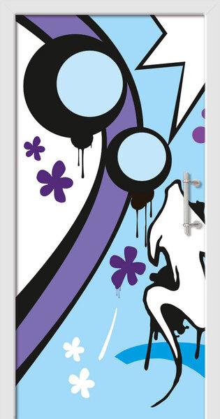 Exkluzivní dveře v sérii Graffiti collection od VP TREND