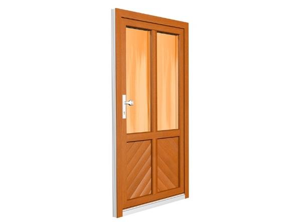 Pětikomorové plastové dveře HORIZONT penta