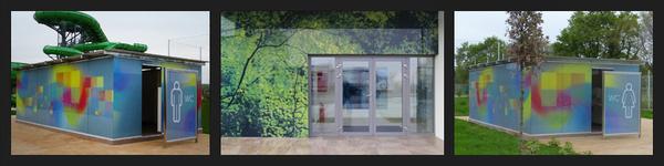 Designová fasádní skla