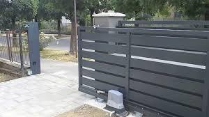 Samonosné hliníkové posuvné brány