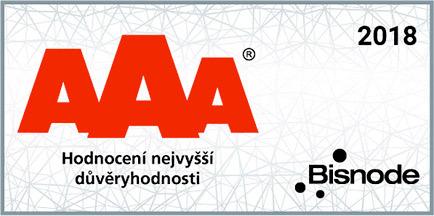 Společnost ISOTRA dosáhla nejvyššího stupně hodnocení AAA