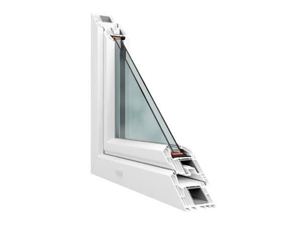 Sedmikomorové plastové okno HORIZONT PS penta plus