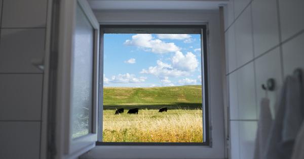 Skryté kování na oknech