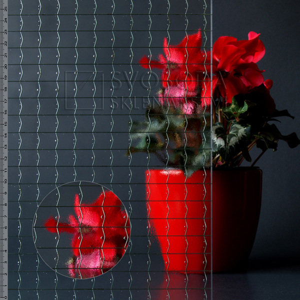 Ornamentní skla a drátoskla