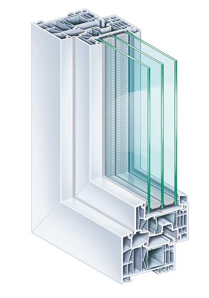 Plastová okna Premium 88MD